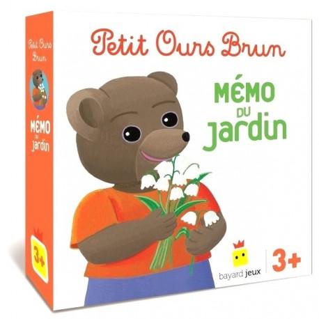 Petit Ours Brun Mémo du Jardin