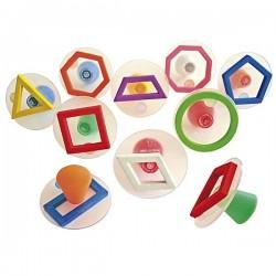 Tampons contours formes géométriques