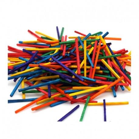 Allumettes multicolores