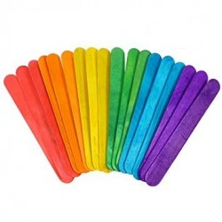 Grands Bâtons multicolores