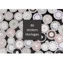 Stickers Horloges