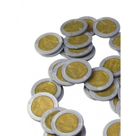 25 pièces de 2€