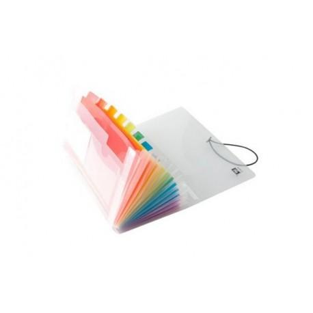 Pochette trieur format chèque Rainbow