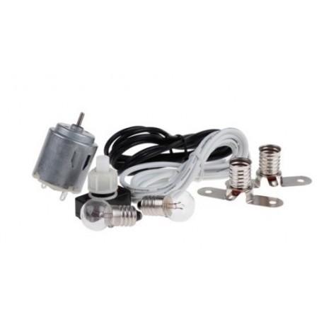 Kit de montage électrique avec moteur