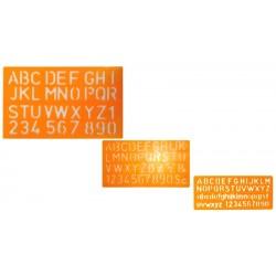 Plaquette Alphabet