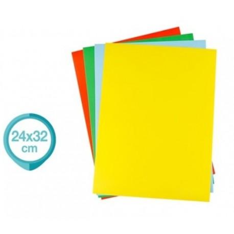 4 Feuilles adhésives de couleur 24 x 32