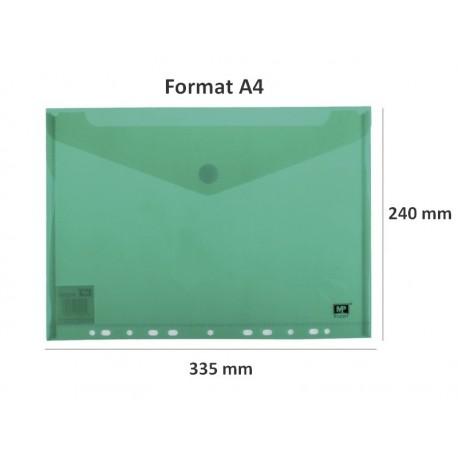 2 Enveloppes Polypropylène perforées A4