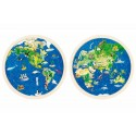 Puzzle Planisphère
