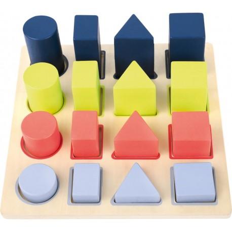 Puzzle Solides à encastrer
