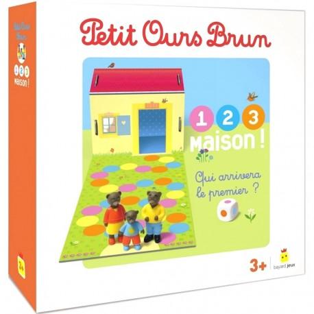 Petit Ours Brun 1 2 3 Maison