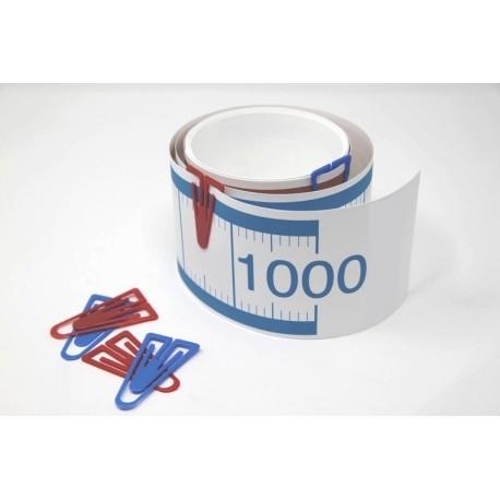 Frise numérique de 0 à 1 000