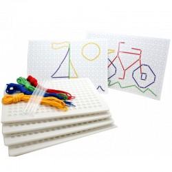 Kit de 4 plaques à piquer