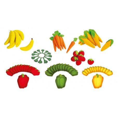 Fruits ou Légumes en feutrine