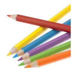 Crayons de couleur aquarellables FSC