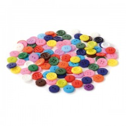 100 boutons 10 mm