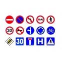 Gommettes Panneaux de signalisation