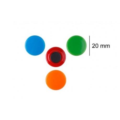 8 Aimants Colorés