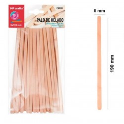 Longs Bâtons en bois 19 cm