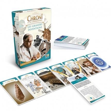 Chroni Cards Les grandes inventions et découvertes scientifiques