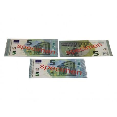 100 billets de 5 euros