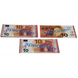 100 billets de 10 euros