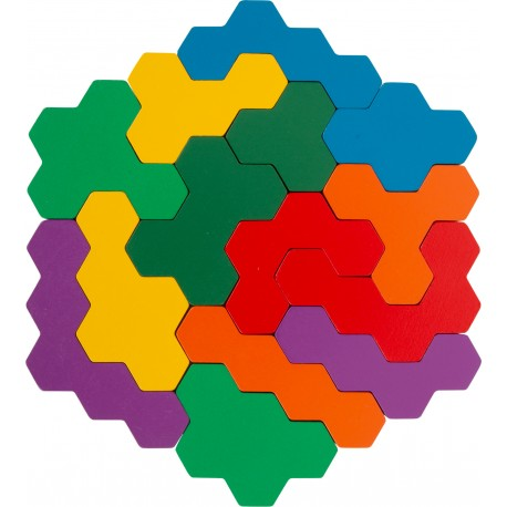 Puzzle Hexagone