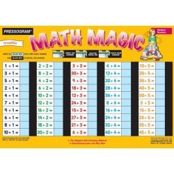 Plaque Math Magic Division