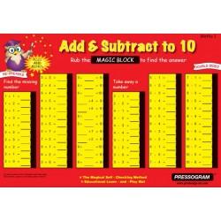 Plaque Math Magic n°1