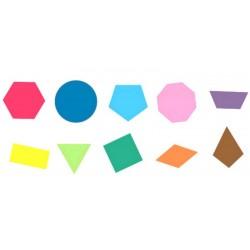 Tampons formes géométriques