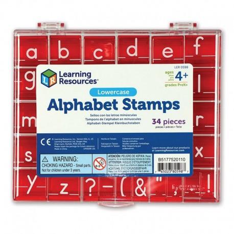 Tampons Alphabet Script